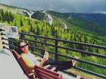 Mary, Top of Gondola in Colorado