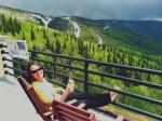 Mary, Top of Gondola in Colorado