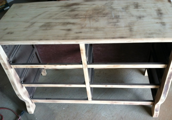 Baby Girl Nursery Dresser and Changing Table