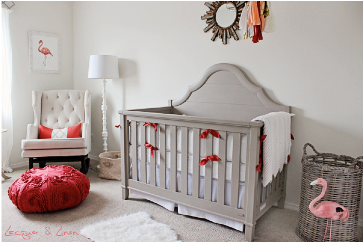 35 Weeks: Baby Girl Nursery | Mary + Pete