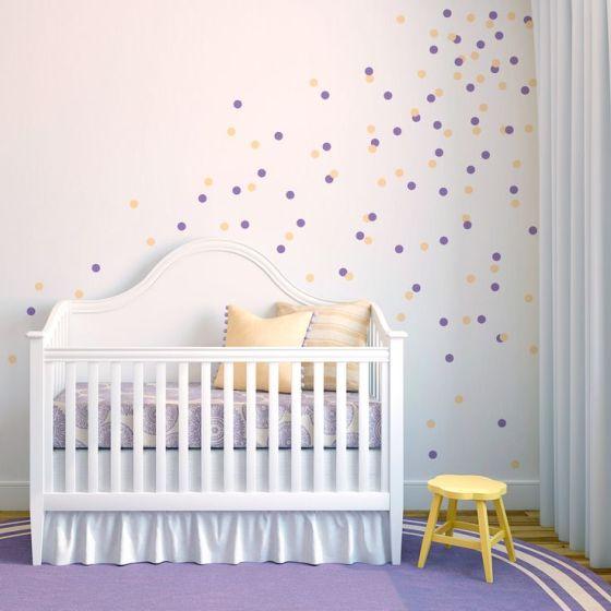 Baby Nursery Polka Dots
