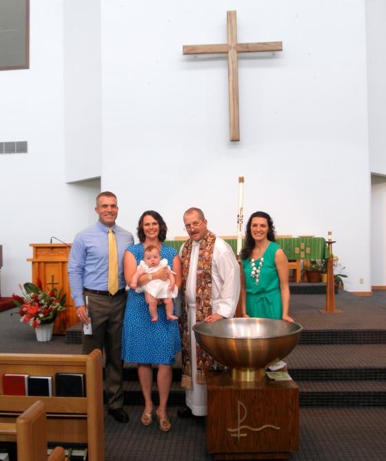 Liesl Baptism